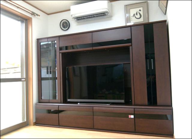 TVボードセット 納品事例/K様邸