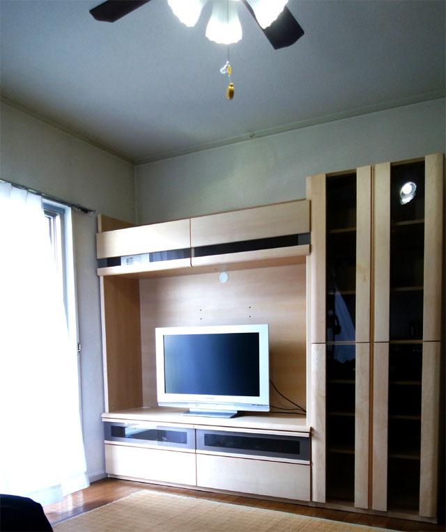 リビングTVボード 納品事例/S様邸