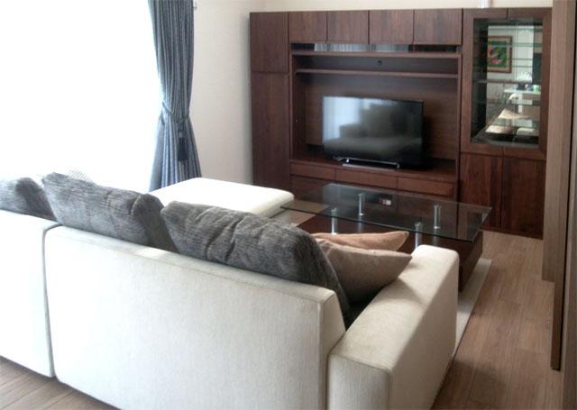 壁面TVボード 納品事例/H様邸